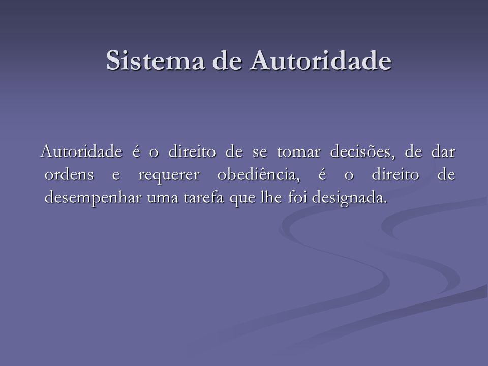 Sistema de Autoridade
