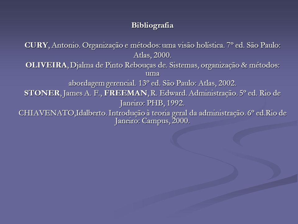 abordagem gerencial. 13º ed. São Paulo: Atlas, 2002.
