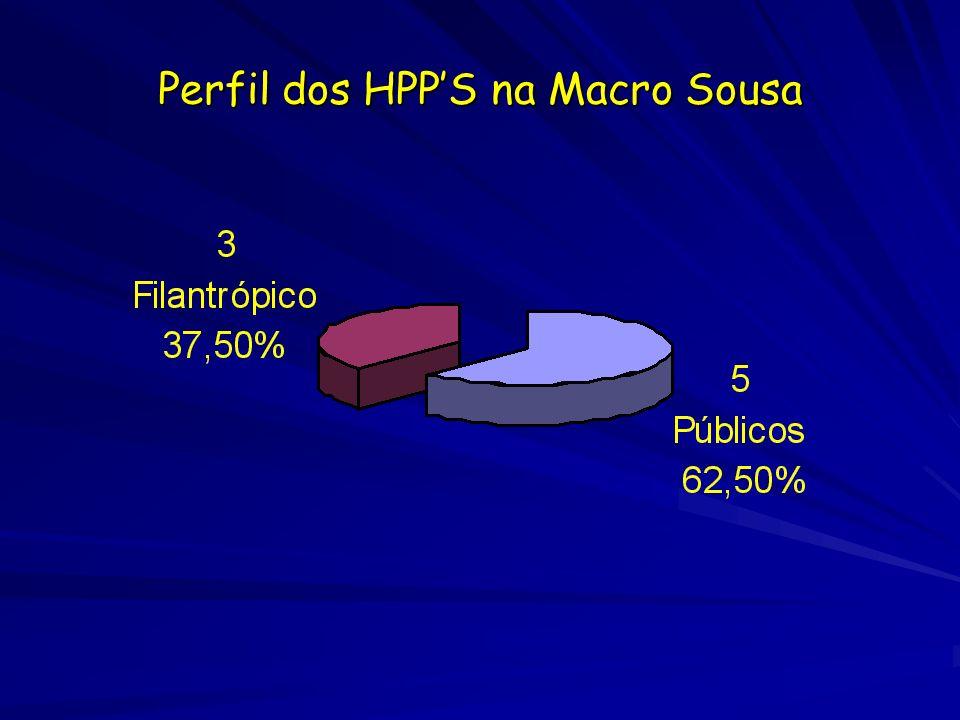 Perfil dos HPP'S na Macro Sousa