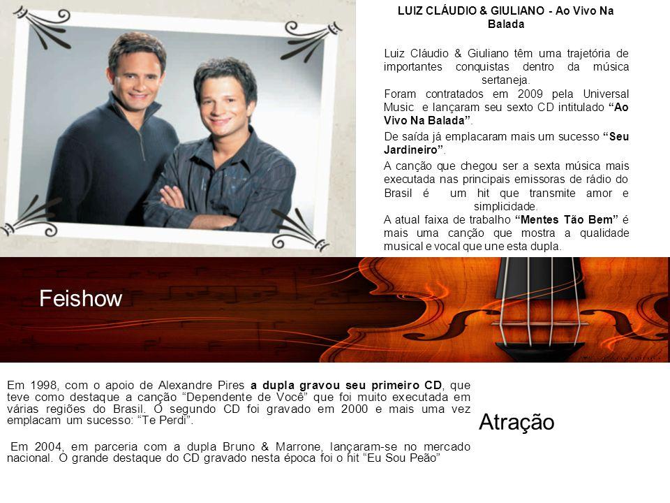 LUIZ CLÁUDIO & GIULIANO - Ao Vivo Na Balada