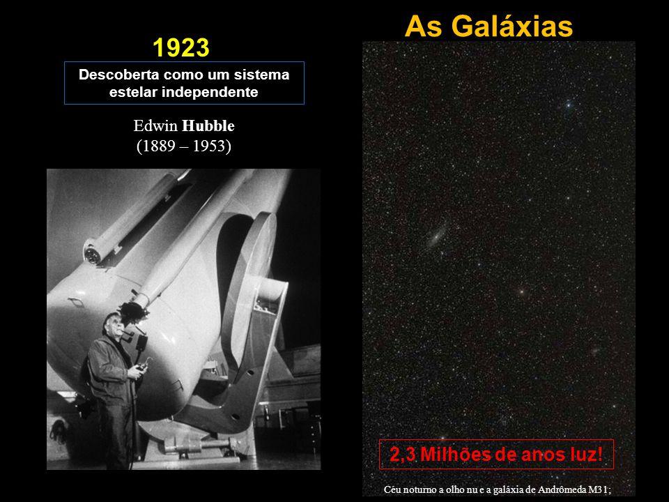 Descoberta como um sistema estelar independente