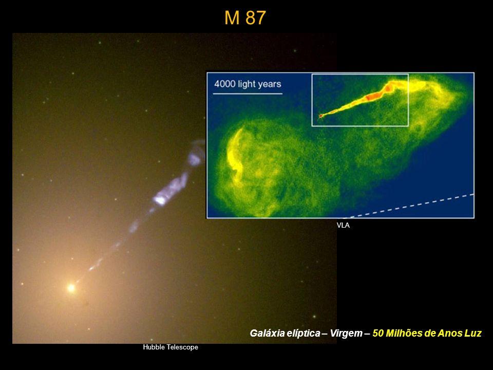 Galáxia elíptica – Virgem – 50 Milhões de Anos Luz