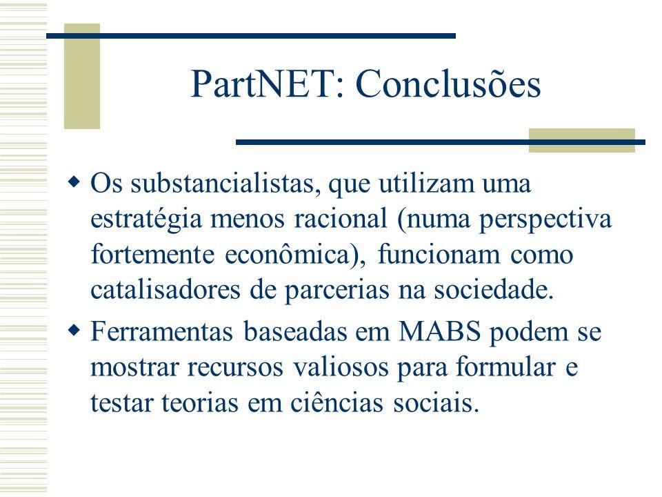 PartNET: Conclusões