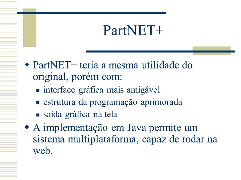 PartNET+ PartNET+ teria a mesma utilidade do original, porém com:
