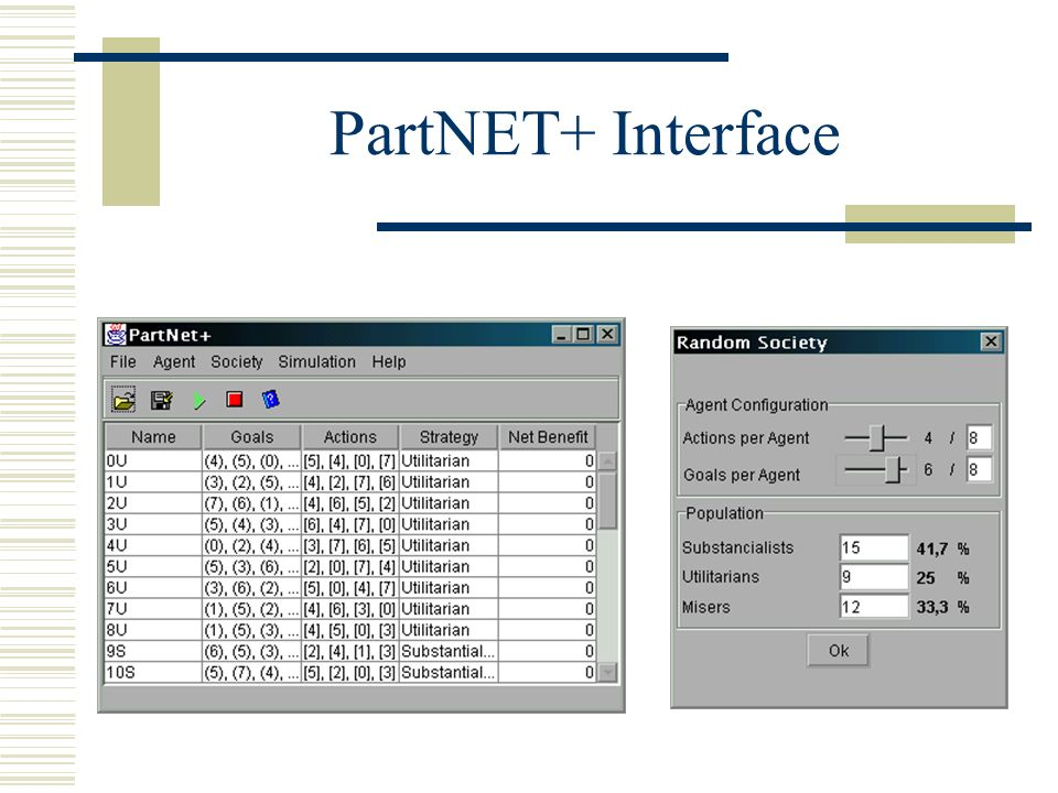 PartNET+ Interface