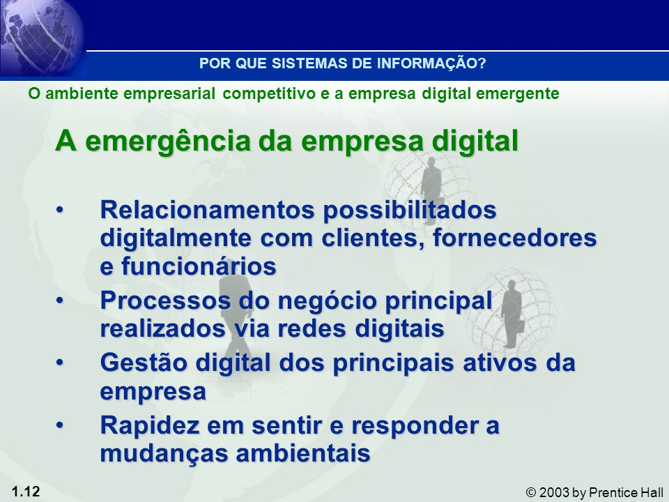 A emergência da empresa digital
