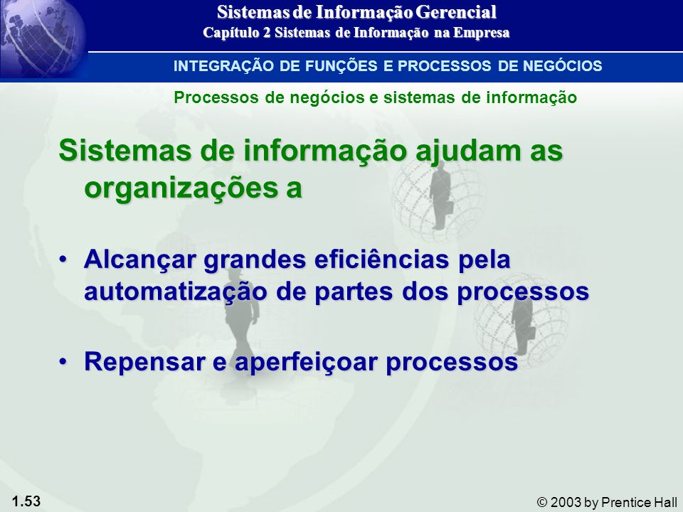 Sistemas de informação ajudam as organizações a