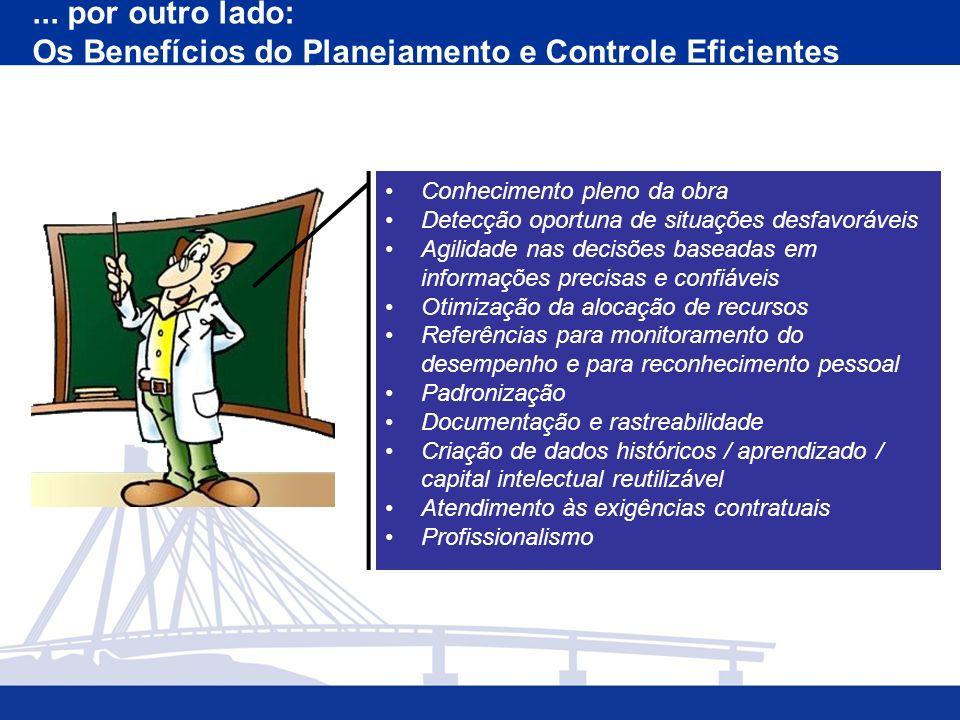 Os Benefícios do Planejamento e Controle Eficientes