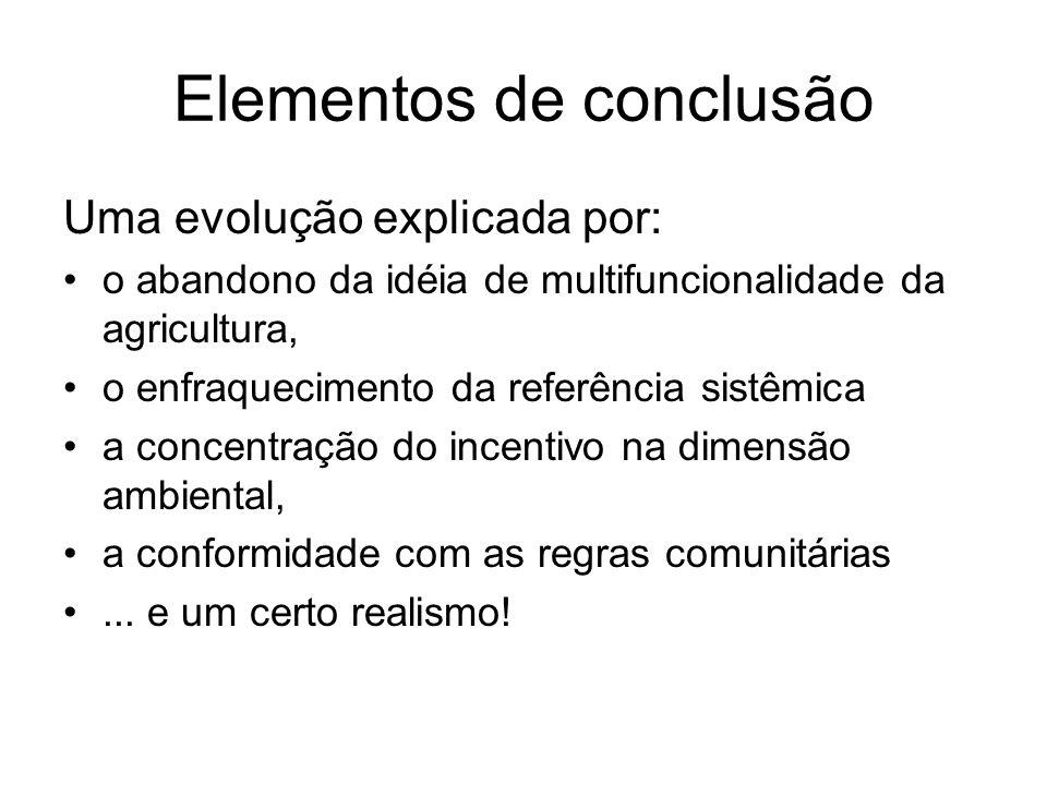 Elementos de conclusão