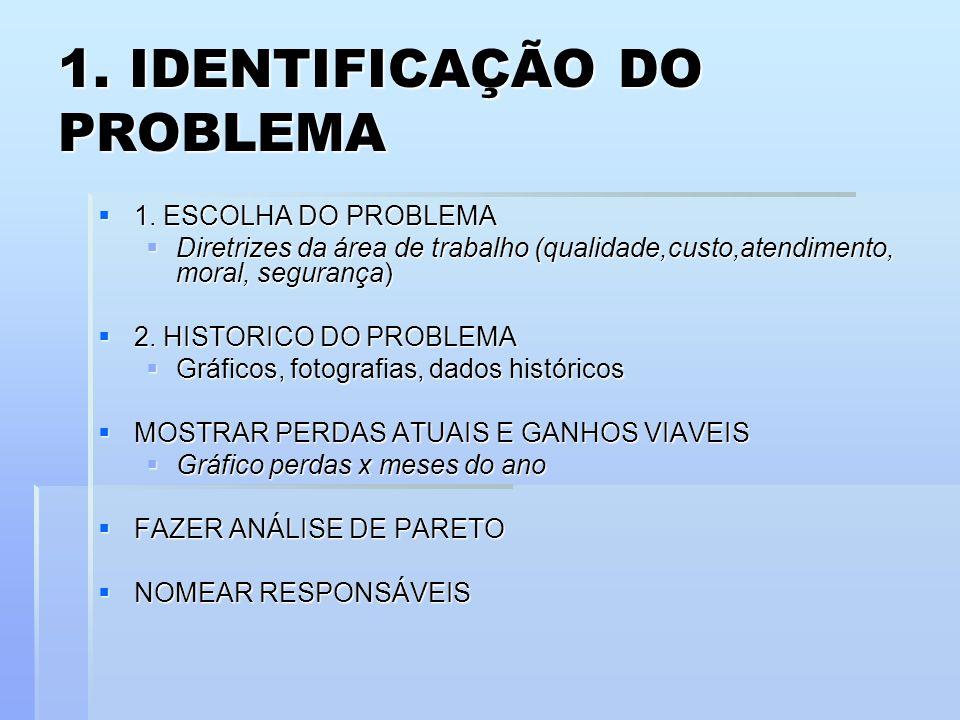 1. IDENTIFICAÇÃO DO PROBLEMA