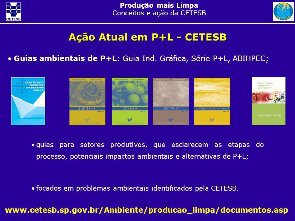 Ação Atual em P+L - CETESB