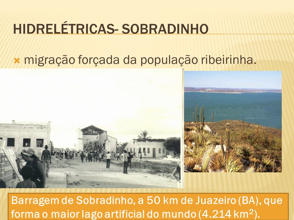 Hidrelétricas- SOBRADINHO