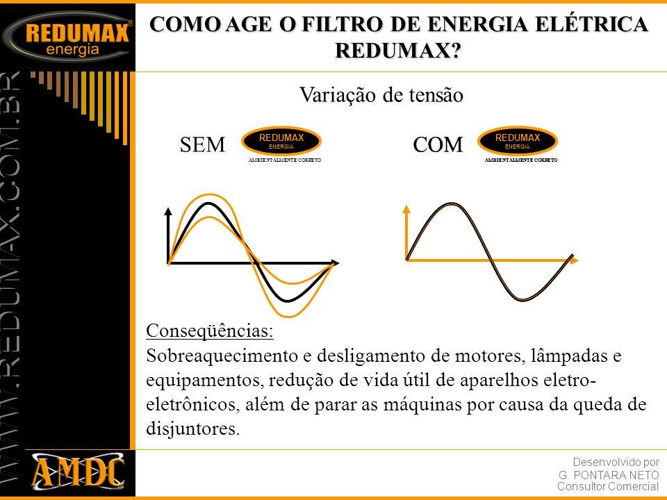 COMO AGE O FILTRO DE ENERGIA ELÉTRICA REDUMAX