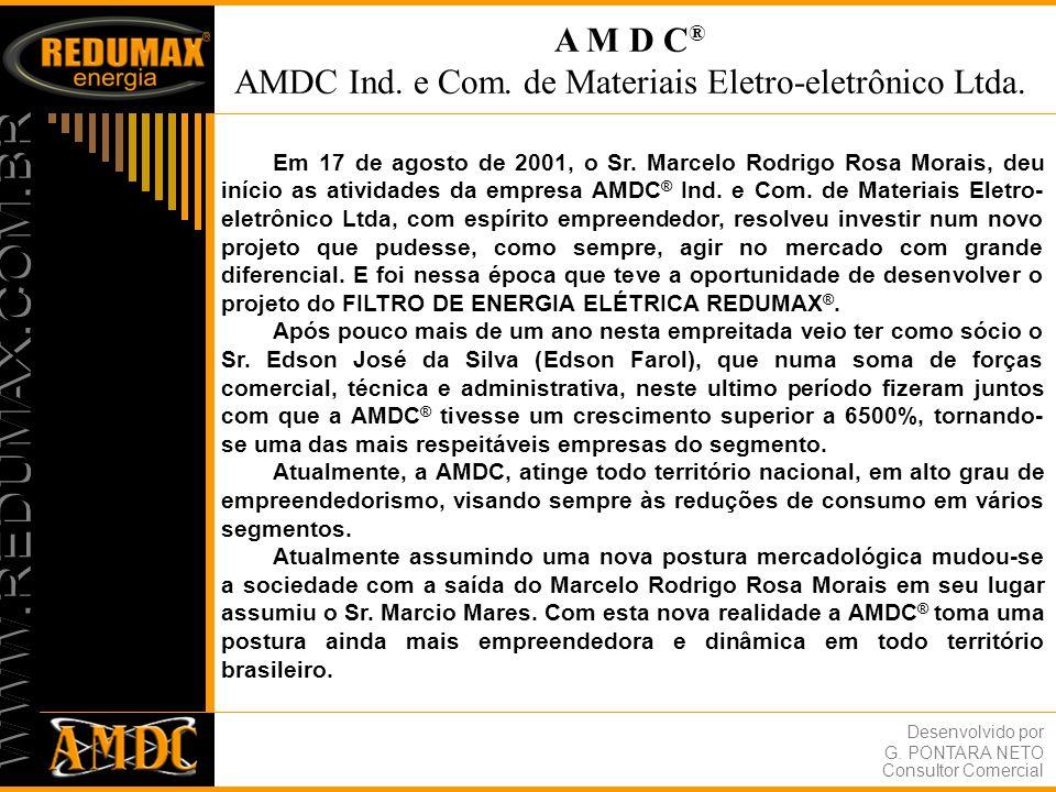 AMDC Ind. e Com. de Materiais Eletro-eletrônico Ltda.
