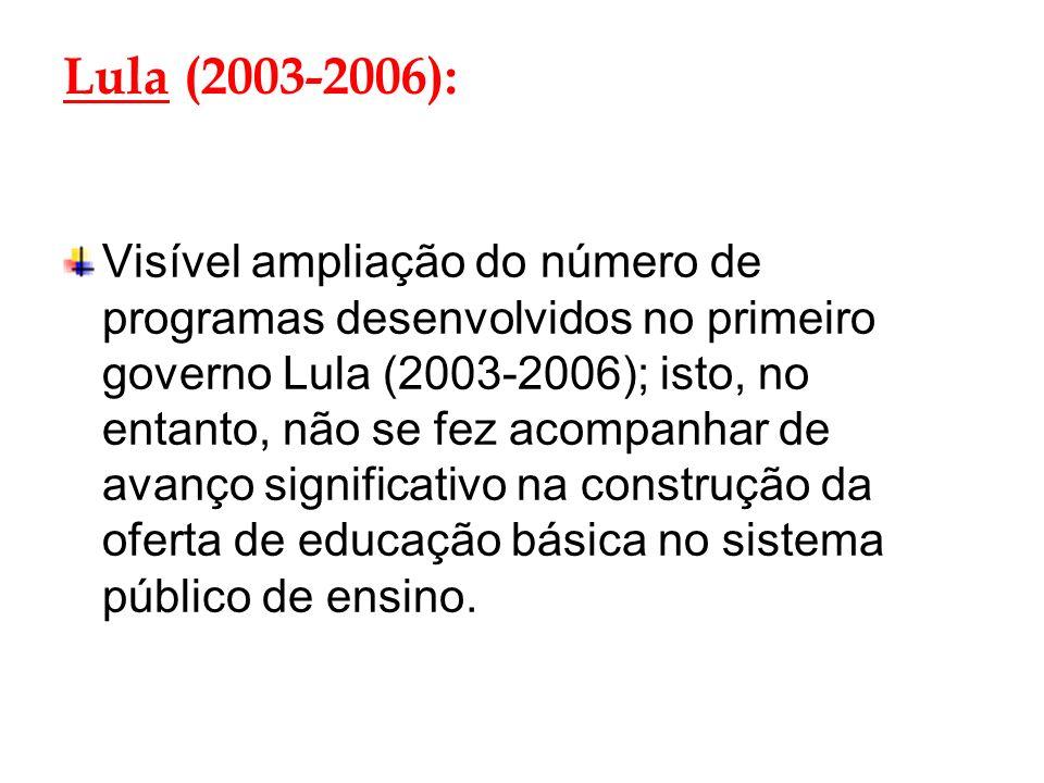 Lula (2003-2006):