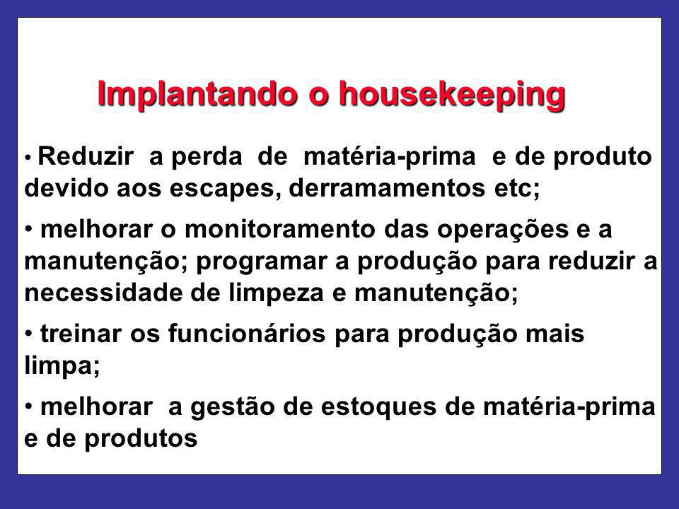 Implantando o housekeeping