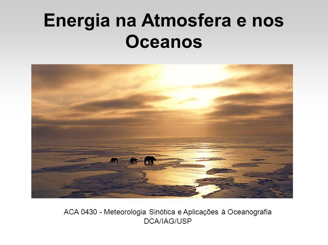 Energia na Atmosfera e nos Oceanos