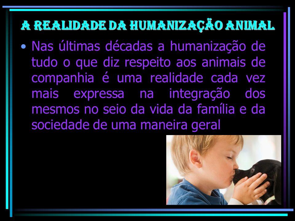 A realidade da Humanização Animal