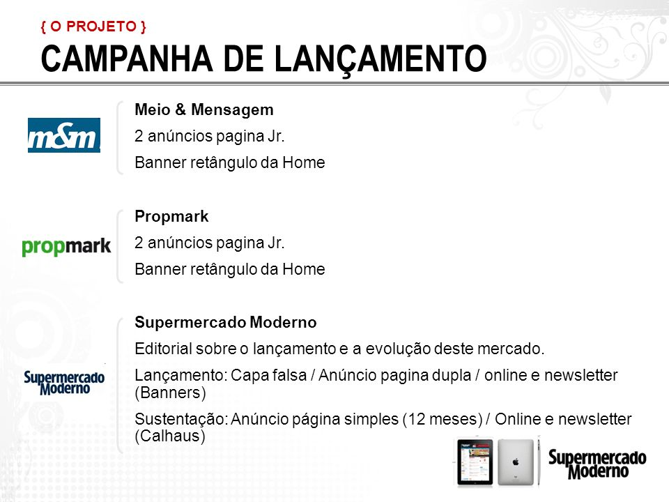 CAMPANHA DE LANÇAMENTO