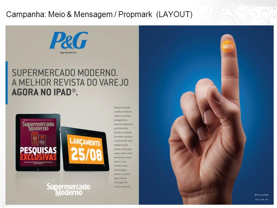 Campanha: Meio & Mensagem / Propmark (LAYOUT)