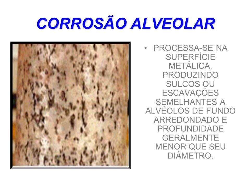 CORROSÃO ALVEOLAR