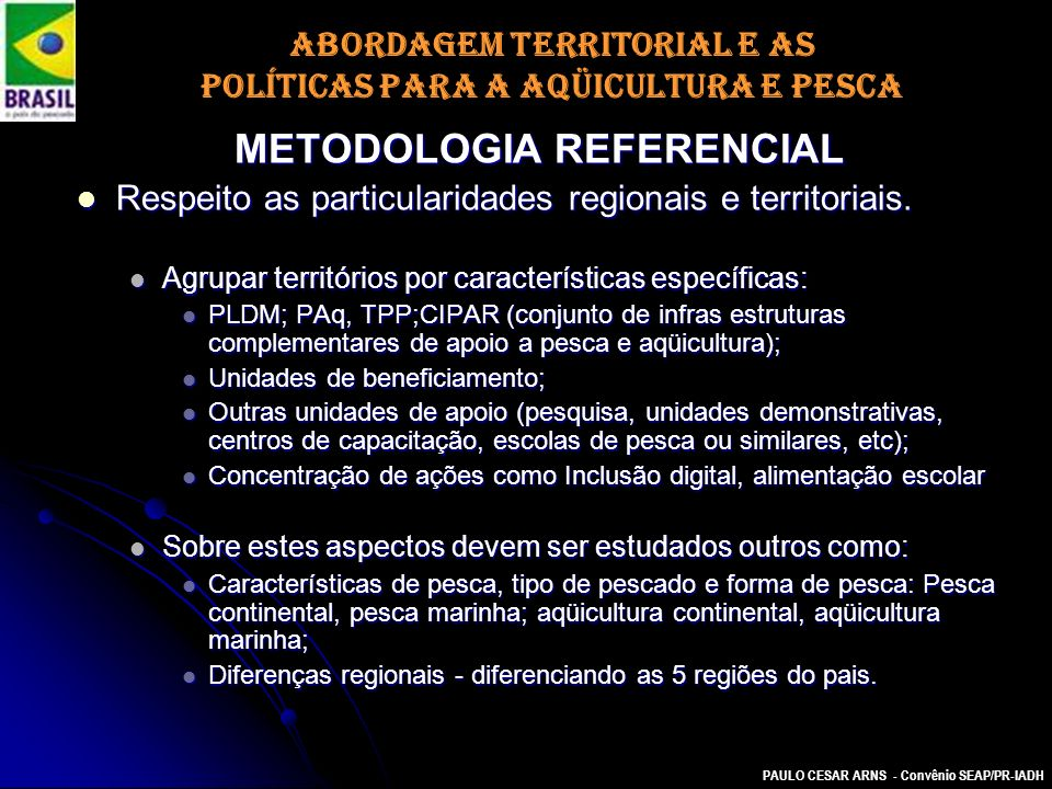 METODOLOGIA REFERENCIAL