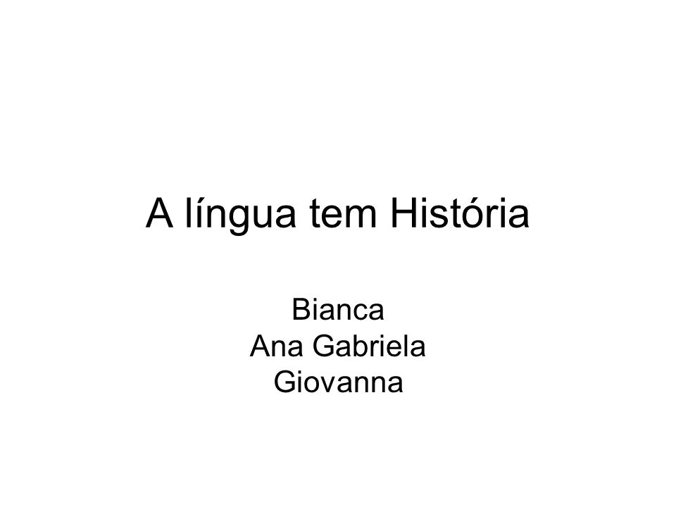 Bianca Ana Gabriela Giovanna