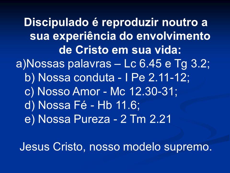 Jesus Cristo, nosso modelo supremo.