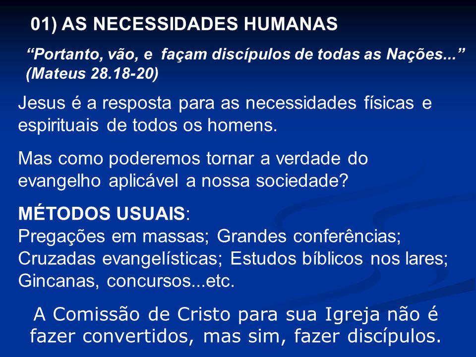01) AS NECESSIDADES HUMANAS