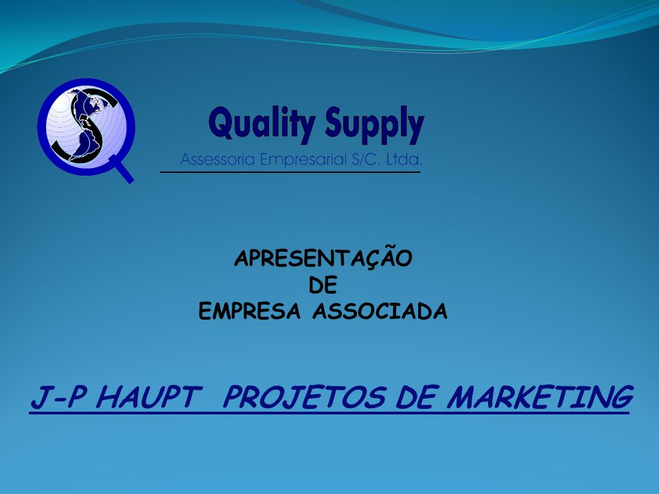 J-P HAUPT PROJETOS DE MARKETING