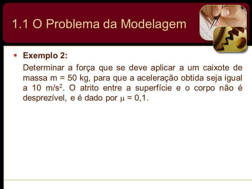 1.1 O Problema da Modelagem