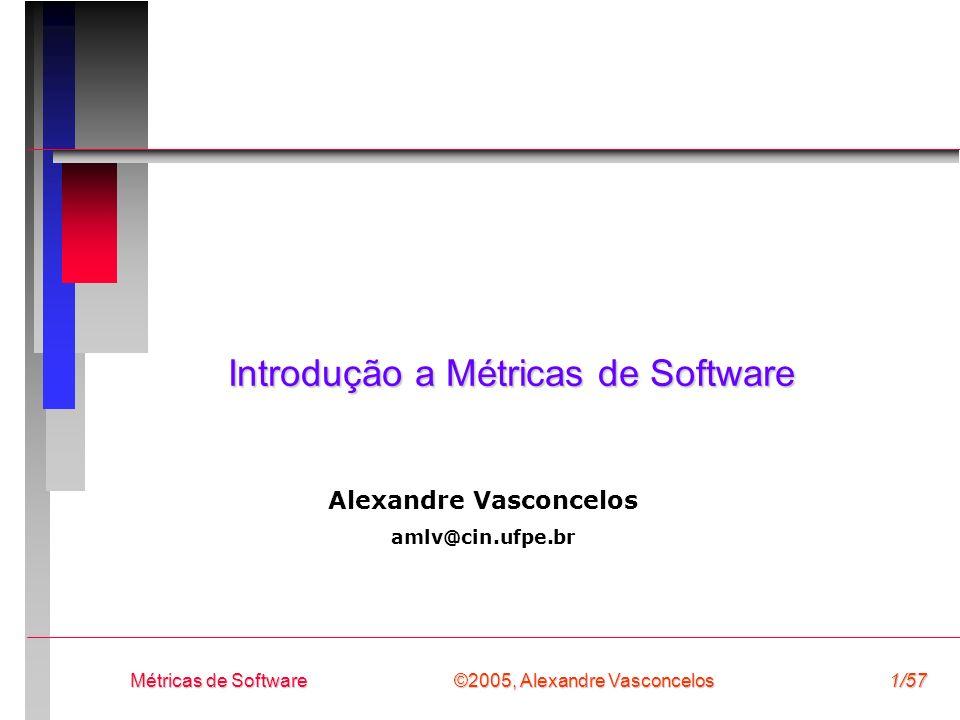 Introdução a Métricas de Software
