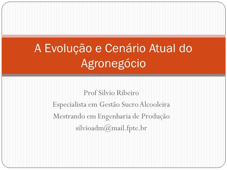 A Evolução e Cenário Atual do Agronegócio