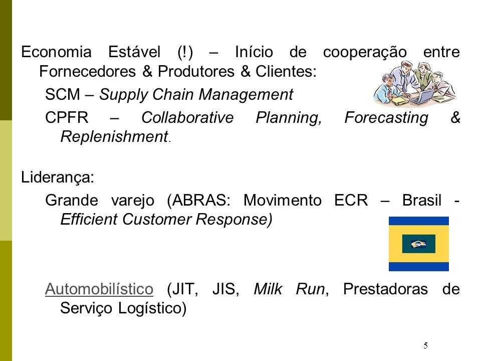 Economia Estável (!) – Início de cooperação entre Fornecedores & Produtores & Clientes: