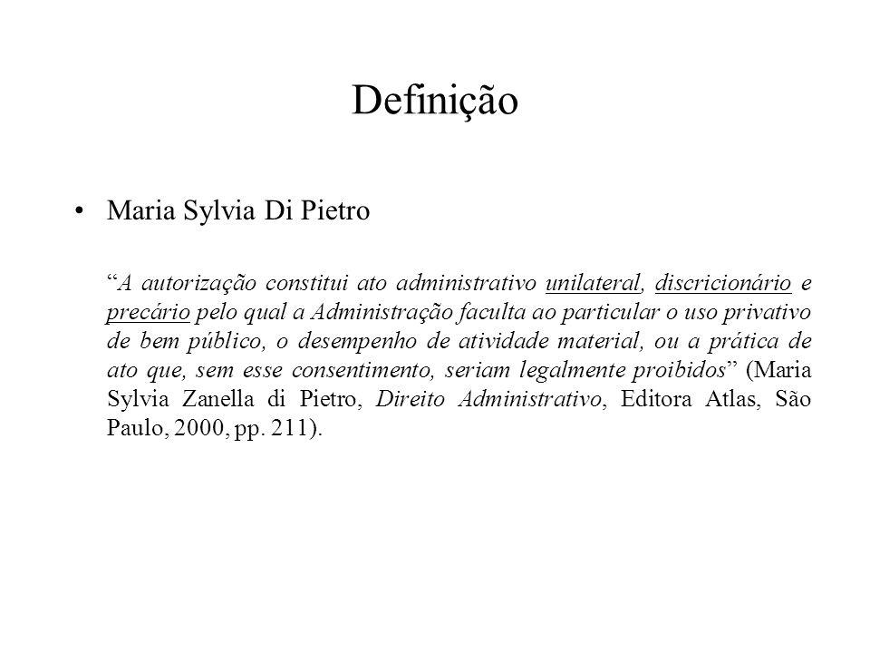 Definição Maria Sylvia Di Pietro