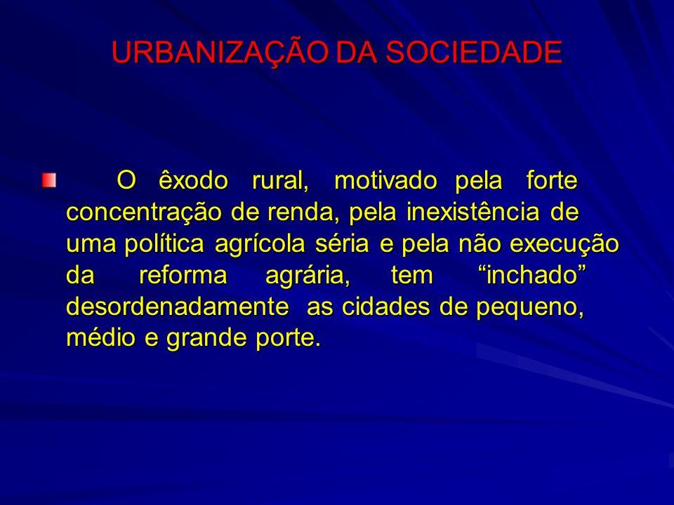 URBANIZAÇÃO DA SOCIEDADE