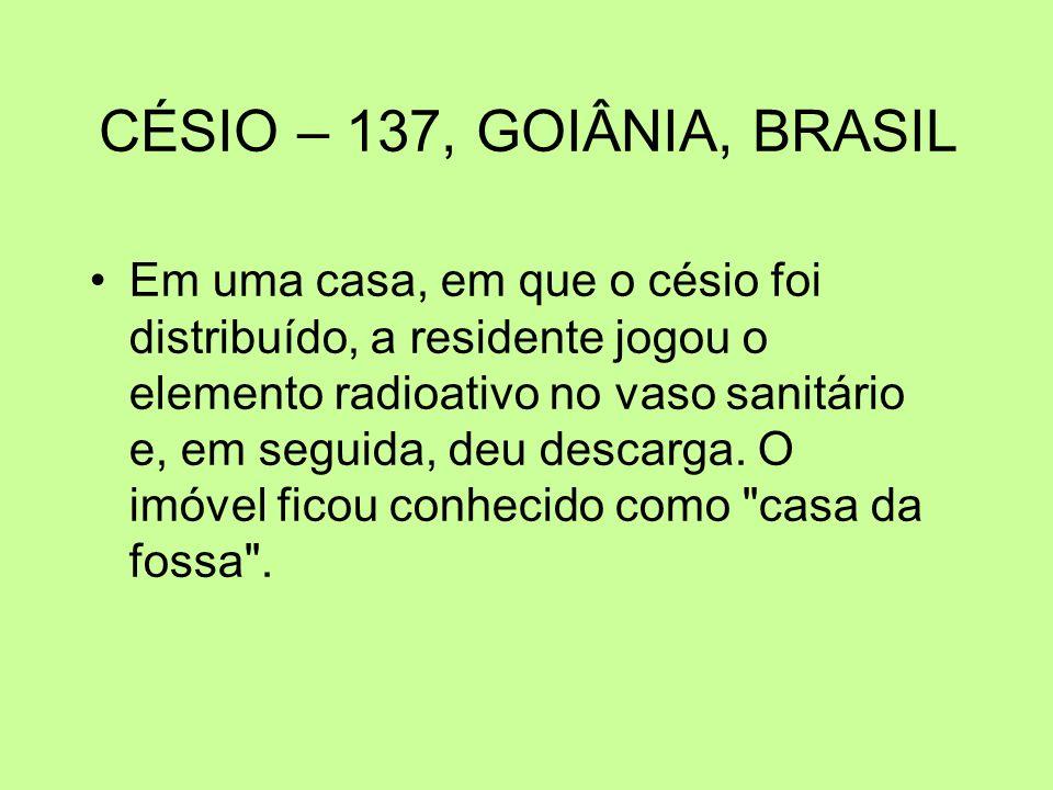 CÉSIO – 137, GOIÂNIA, BRASIL