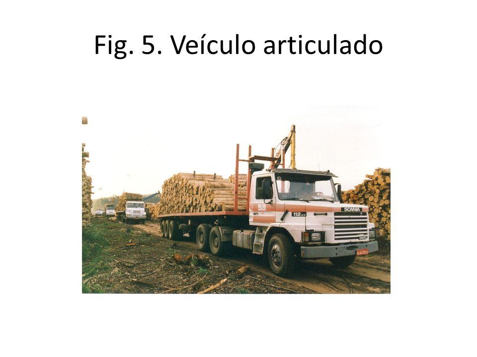 Fig. 5. Veículo articulado