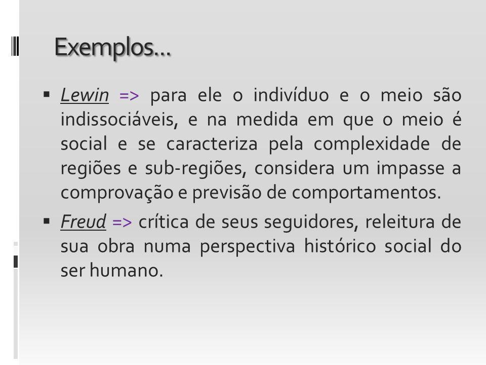 Exemplos...