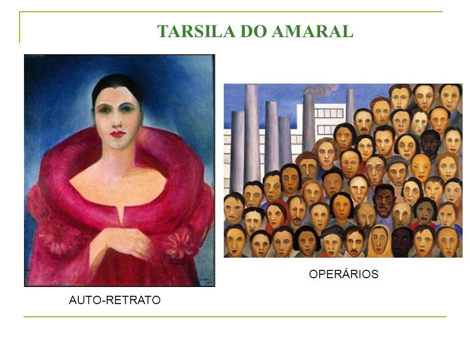 TARSILA DO AMARAL OPERÁRIOS AUTO-RETRATO