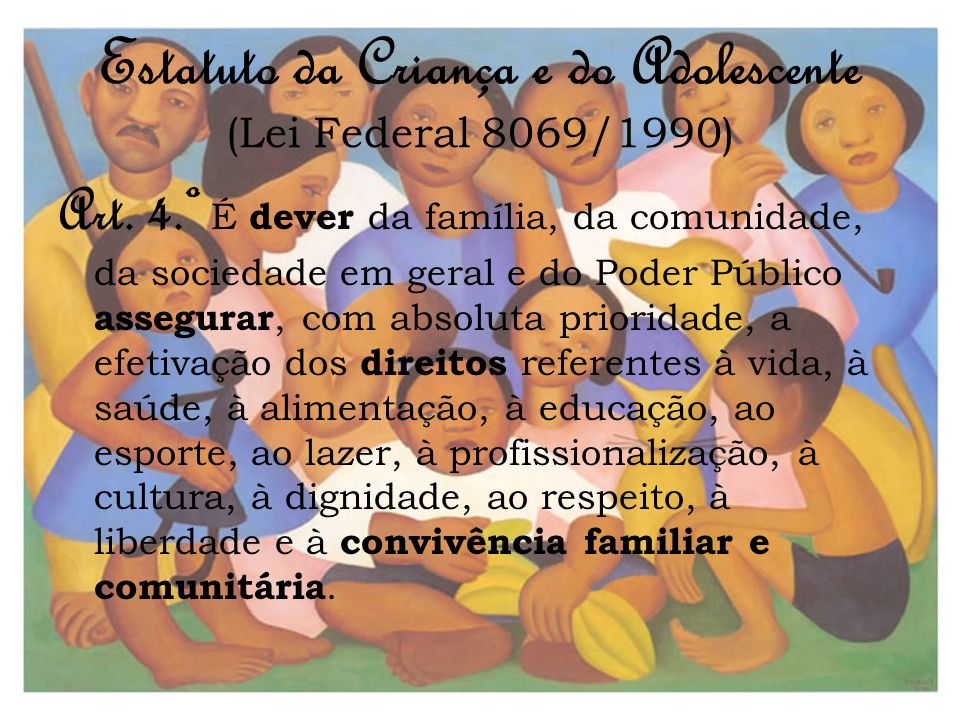 Estatuto da Criança e do Adolescente (Lei Federal 8069/1990)