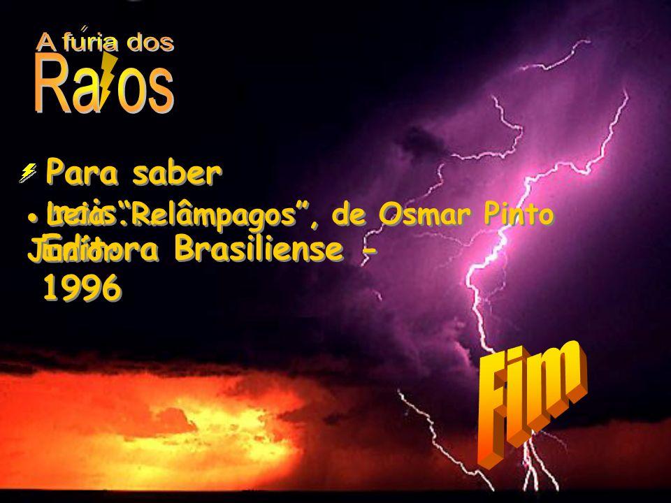 A furia dos Ra os Para saber mais... Editora Brasiliense - 1996 Fim