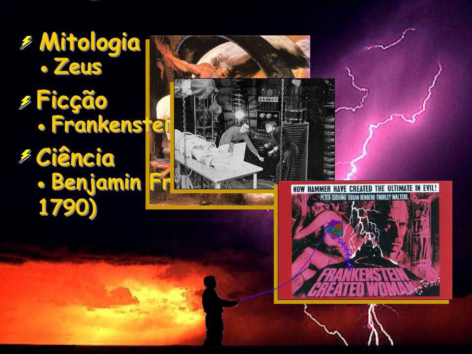 Mitologia Ficção Ciência  Zeus  Frankenstein
