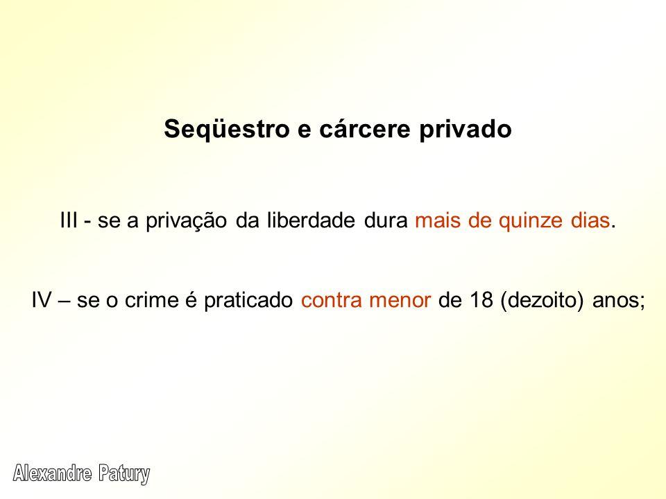 Seqüestro e cárcere privado