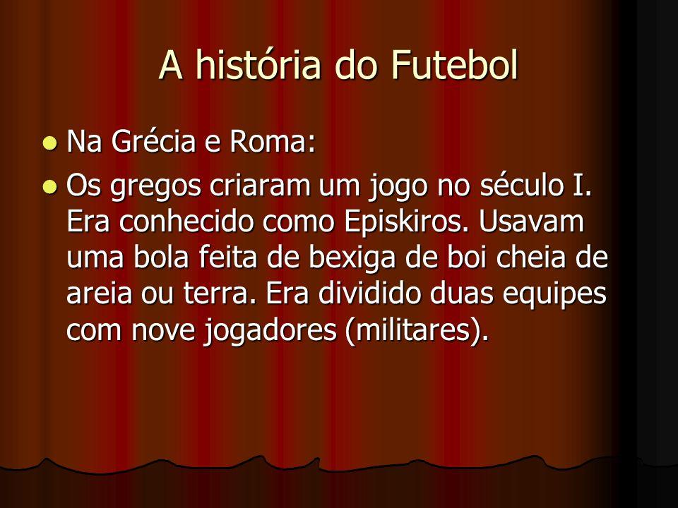 A história do Futebol Na Grécia e Roma: