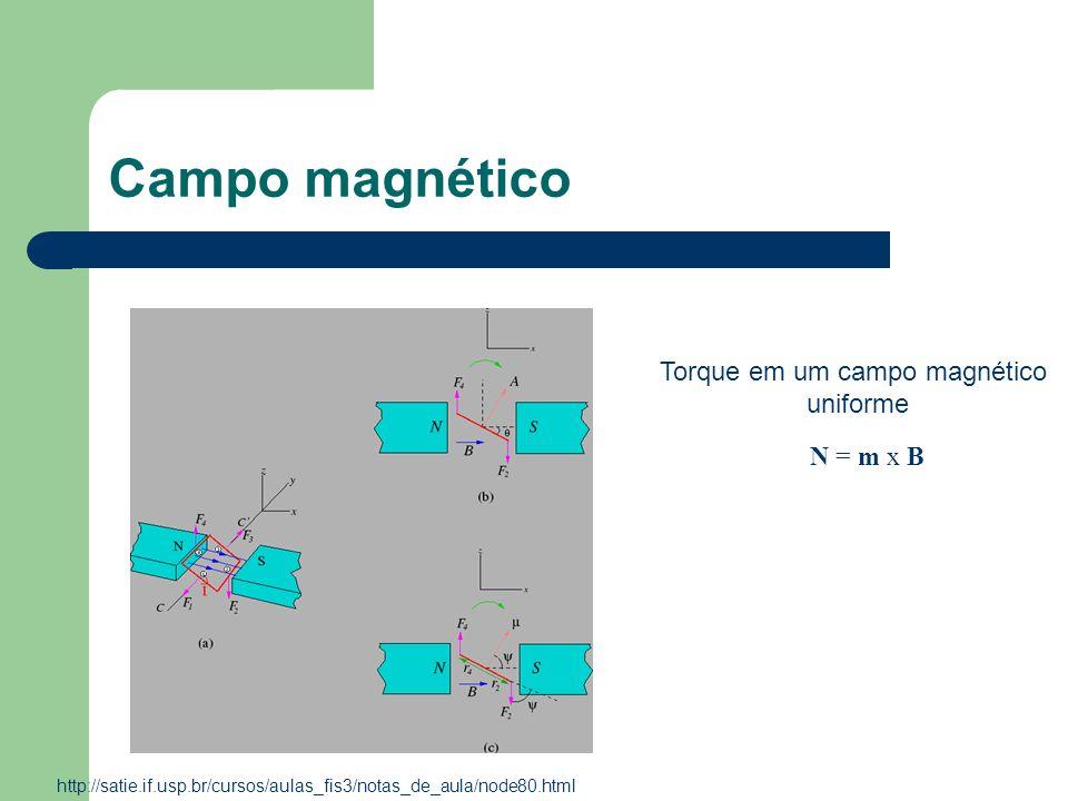 Torque em um campo magnético