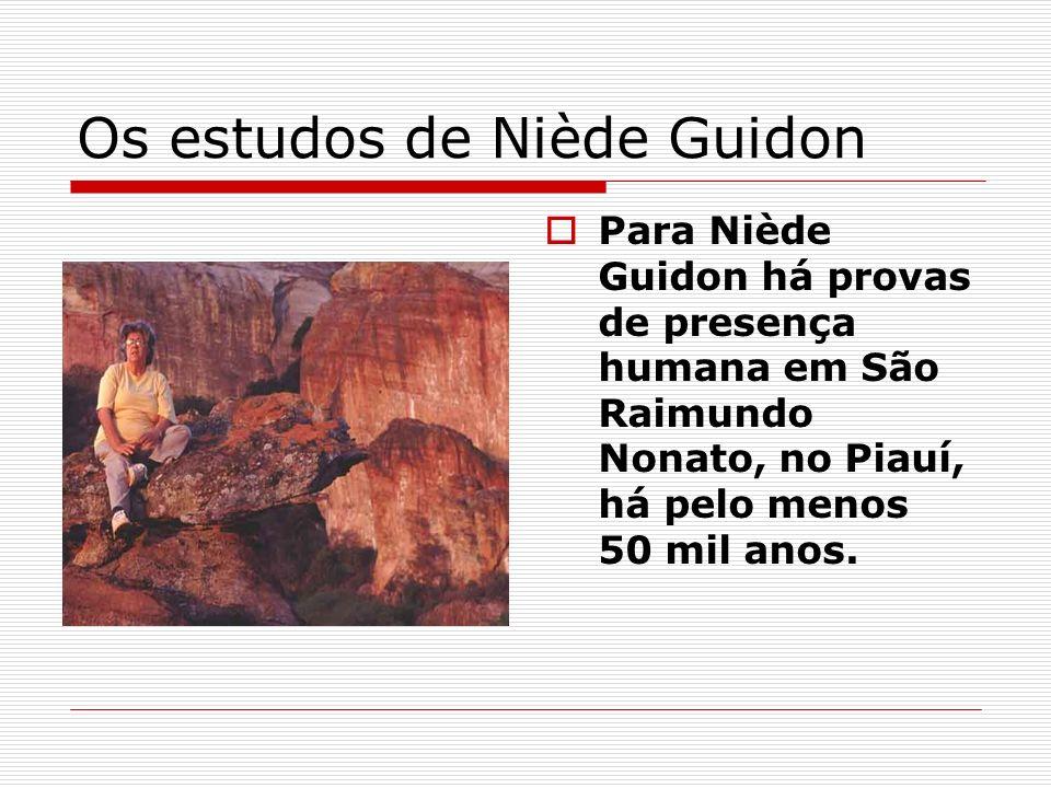Os estudos de Niède Guidon