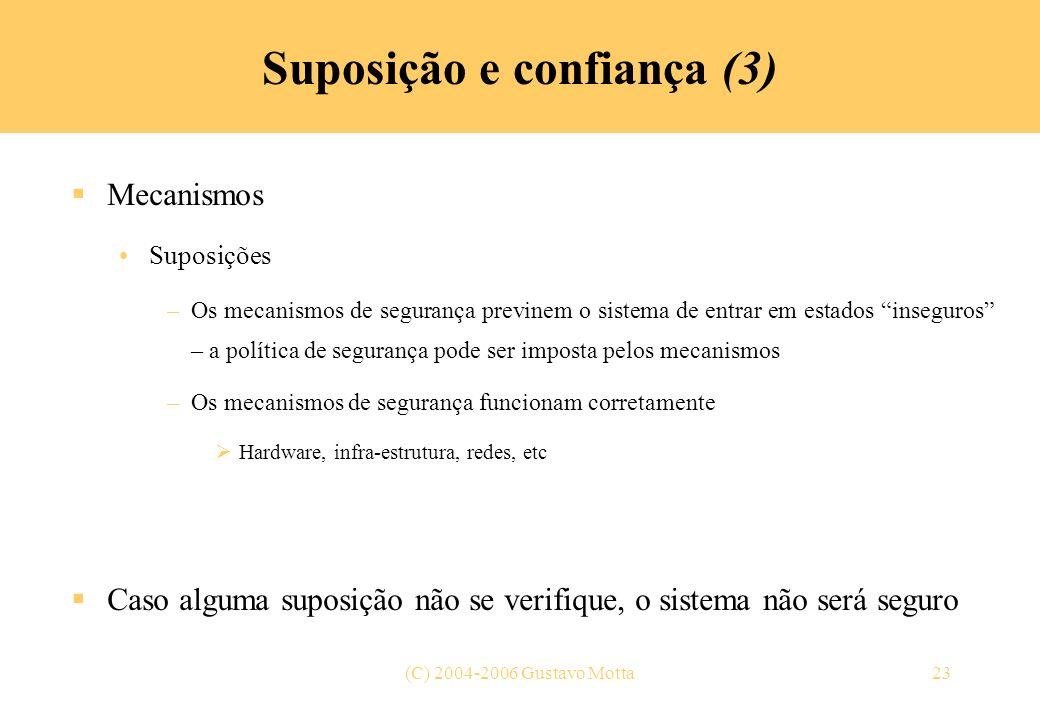 Suposição e confiança (3)
