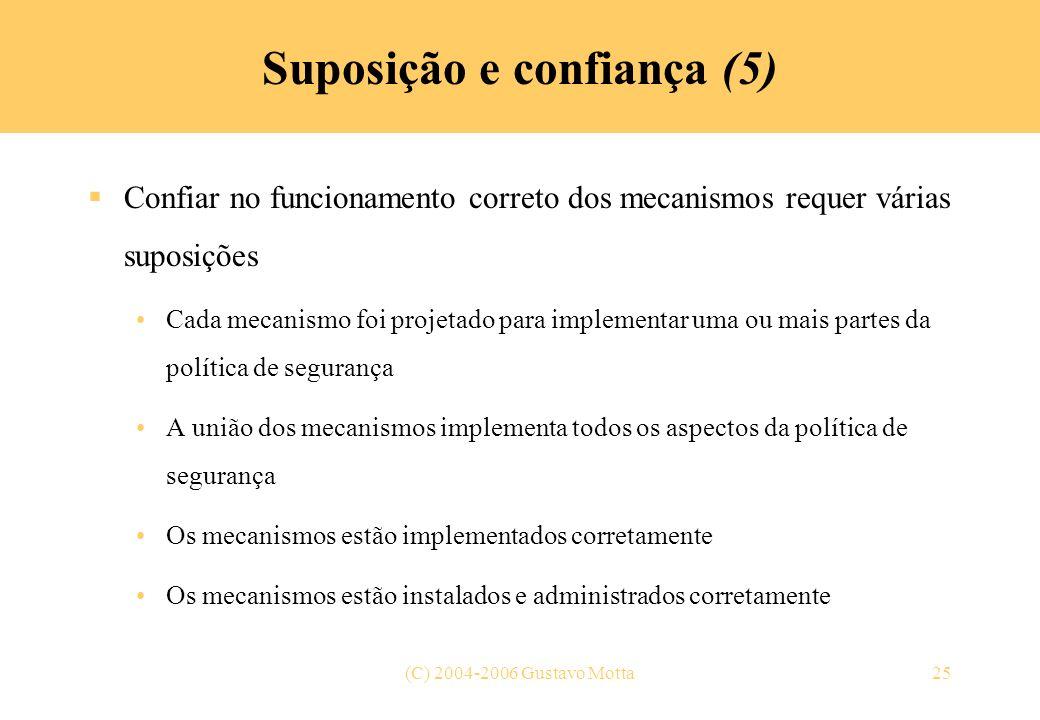 Suposição e confiança (5)