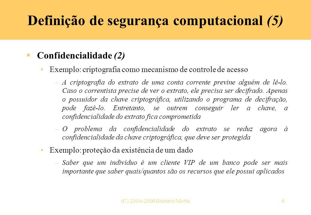 Definição de segurança computacional (5)